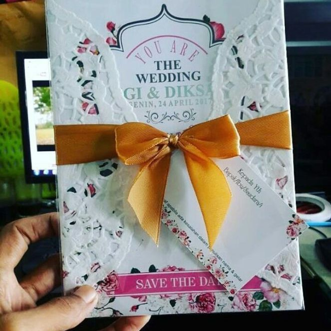undangan pernikahan cantik dibawah 5000 rupiah